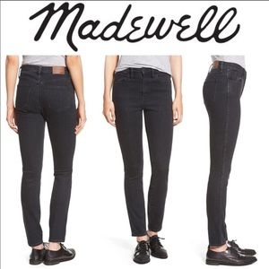Madewell High Riser black jeans size 26